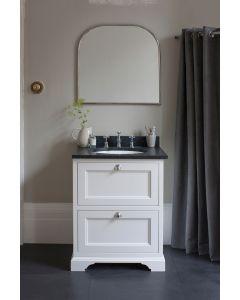 Waschtisch Unterschrank Burlington 65 cm mit Schubladen, Minerva/Granit