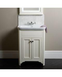 Laura Ashley Langham Waschtisch Kommode 600mm Cotton White