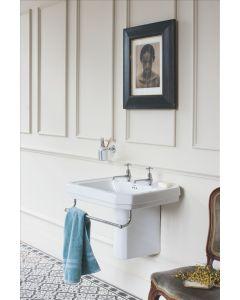 Waschbecken Victorian 61 cm mit Halb-Säule