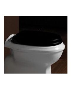 Nostalgie WC-Sitz Old England, schwarz