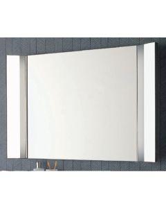 Spiegel mit seitlicher klappbarer LED Beleuchtung